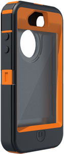 APL2 I4SUN blazed4HD FR sm Otterbox Defender Realtree Series Hybrid Case & Holster for iPhone 4 & 4S