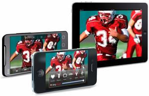 SlingPlayer Mobile on the iPad, iPhone, and Android