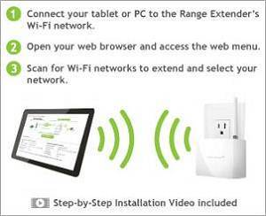 set up range extender - 28 images - netgear ex6100 wifi ...