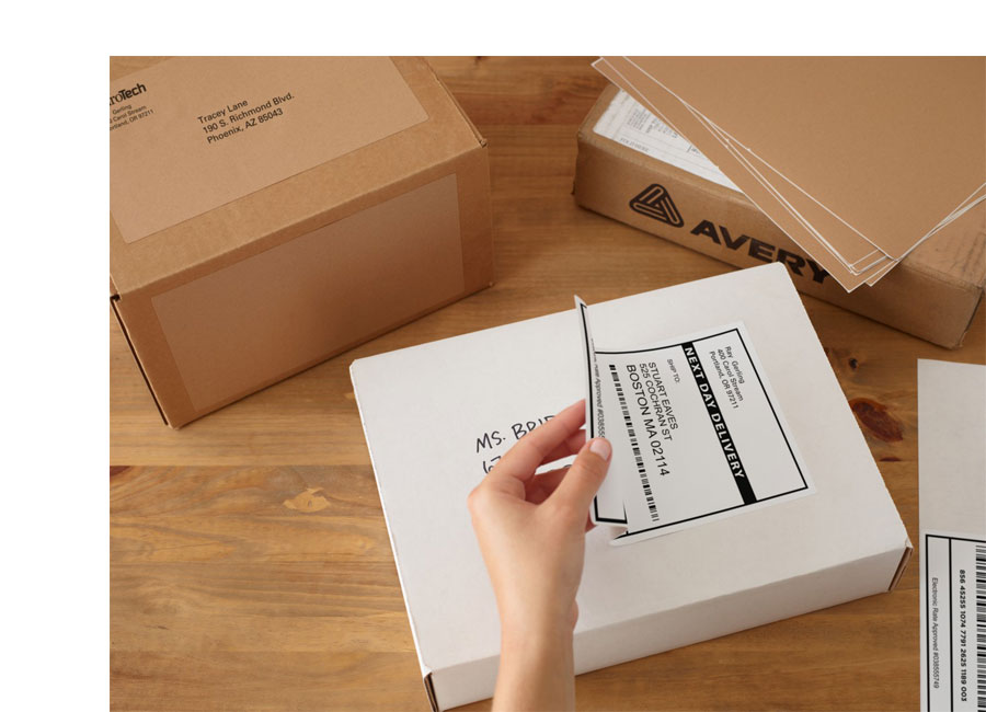 avery shipping labels 2×4 template .