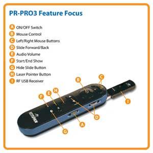 PR-PRO3 Feature Focus