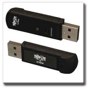 RF USB Receiver (front and back)