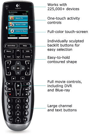 Logitech Harmony One Advanced Universal Remote Discontinued by