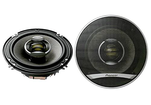 Pioneer TSD1602R 6.5 Inch Two-Way Speakers with 260 Watts Max Power Review