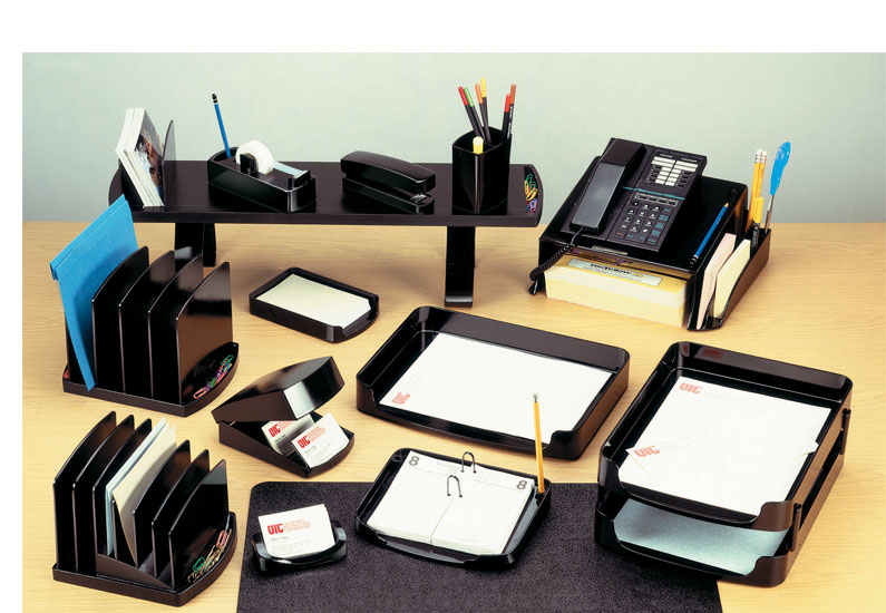 Officemate double supply organizer clear - Desk organization products ...