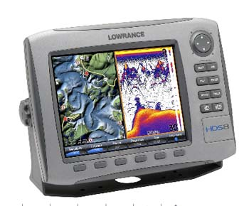 Lowrance HDS-8 Fishfinder/GPS Chartplotter