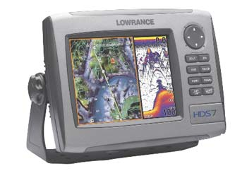 Lowrance HDS-7 Fishfinder/GPS Chartplotter