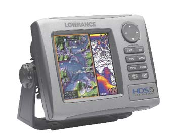 Lowrance HDS-5 Fishfinder/GPS Chartplotter