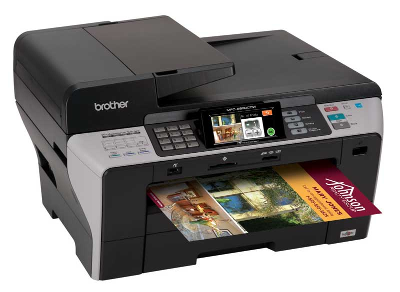 print  copy  scan and fax up