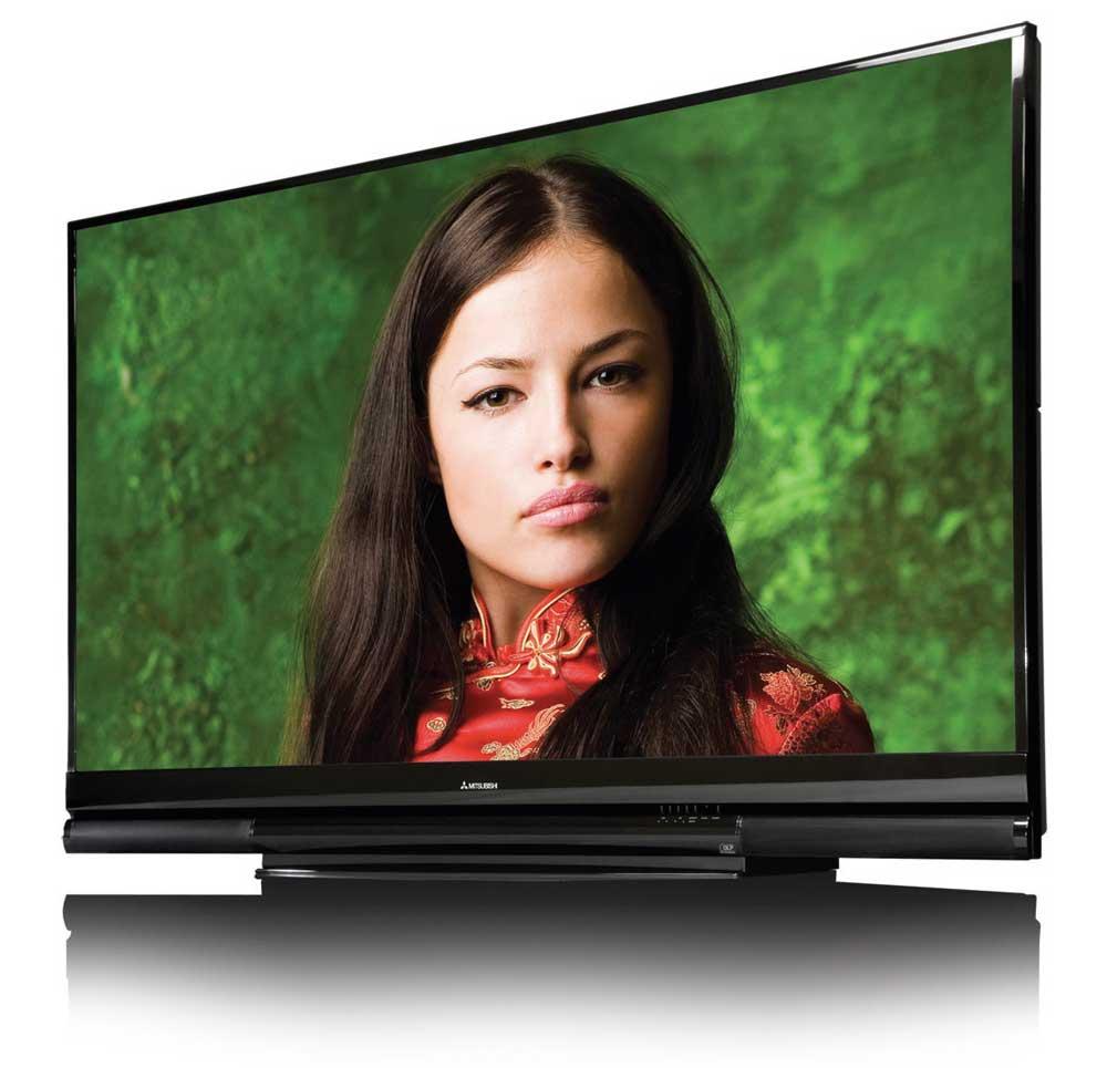 mitsubishi wd 73837 73 inch 1080p 120hz home. Black Bedroom Furniture Sets. Home Design Ideas