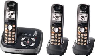 Digital Cordless Phone (Black) : Cordless Telephones : Electronics
