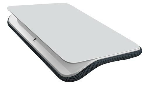 The Comfort Lapdesk measures approx. 18.25 inch x 13.4 inch x 3 inch