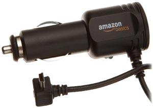Cable de alimentación de coche de AmazonBasics para Garmin Nüvi