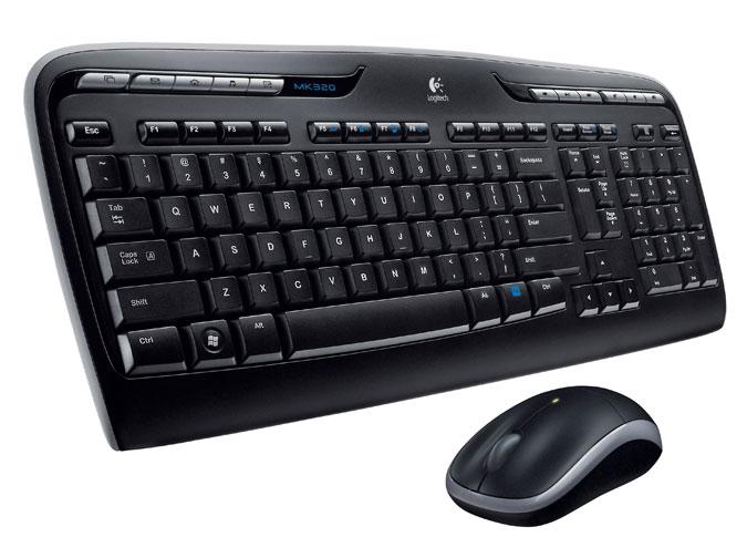 logitech k800 wireless keyboard with touchpad
