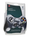 Logitech Gamepad F310 Packaging