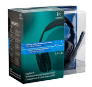 Tai nghe Logitech Wireless Gaming Headset G930 with 7. 1 Surround Sound