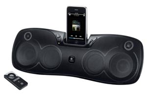 Logitech Rechargeable Speaker S715i for iPod and iPhone