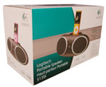 Logitech Portable Speaker S135i Packaging