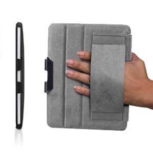 The C.E.O. Hybrid's innovative hand strap system provides a convenient grip solution so you can hold and use your iPad securely while walking, exercising, or lounging around.