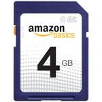 4 GB Class 10 memory card