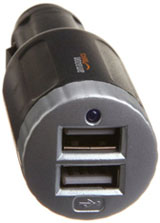 USB ports for charging devices in the car