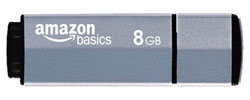 8 GB USB 2.0 Flash Drive &ndash; Grey blue 