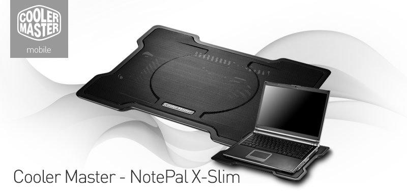Amazon Com Cooler Master Notepal X Slim Ultra Slim Laptop