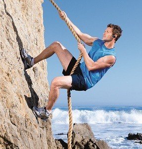 Wear while climbing