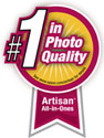 #1 in Photo Quality Logo