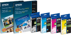 Paper and Ink packaging