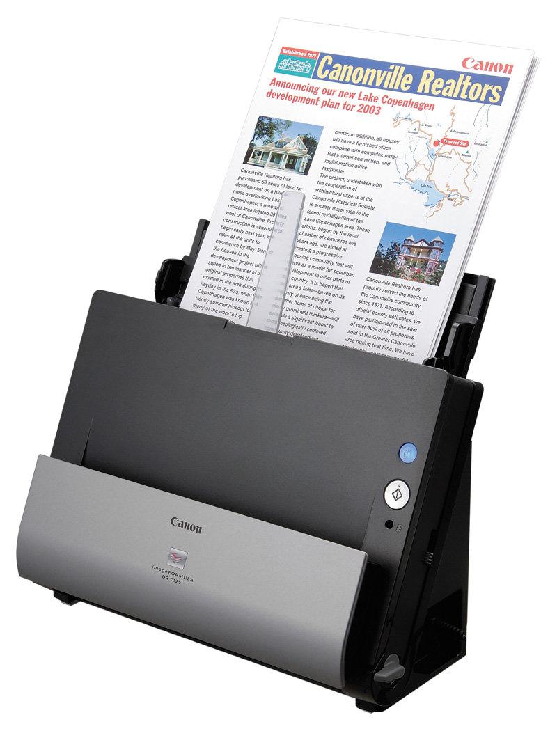 Amazon.com: Canon imageFORMULA DR-C125 Office Document ...