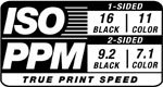ISO PPM True Print Speed