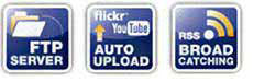 Automated download/upload