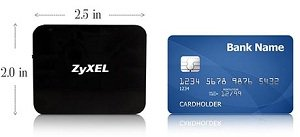 MWR102 size compare to credit card