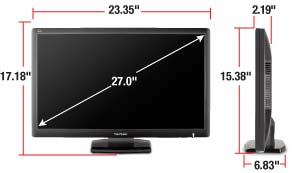 B005ZT5C2M 011a Asus VE228H 21.5 Inch Full HD LED Monitor with Integrated Speakers