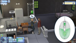 The Sims Illuminated Mouse Screenshot