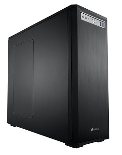 Corsair Obsidian Series Black 550D Mid Tower Computer