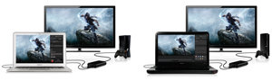 Comes with Elgato Game Capture HD software for Mac and PC