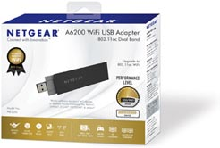Netgear A6200-100PES Adaptateur USB Wifi Dual Band 802.11ac: Amazon.fr