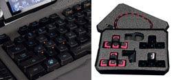 Mad Catz S.T.R.I.K.E. 7 Gaming Keyboard - Main Keyboard