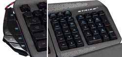 Mad Catz S.T.R.I.K.E. 7 Gaming Keyboard - Function Strip and Modular NumPad