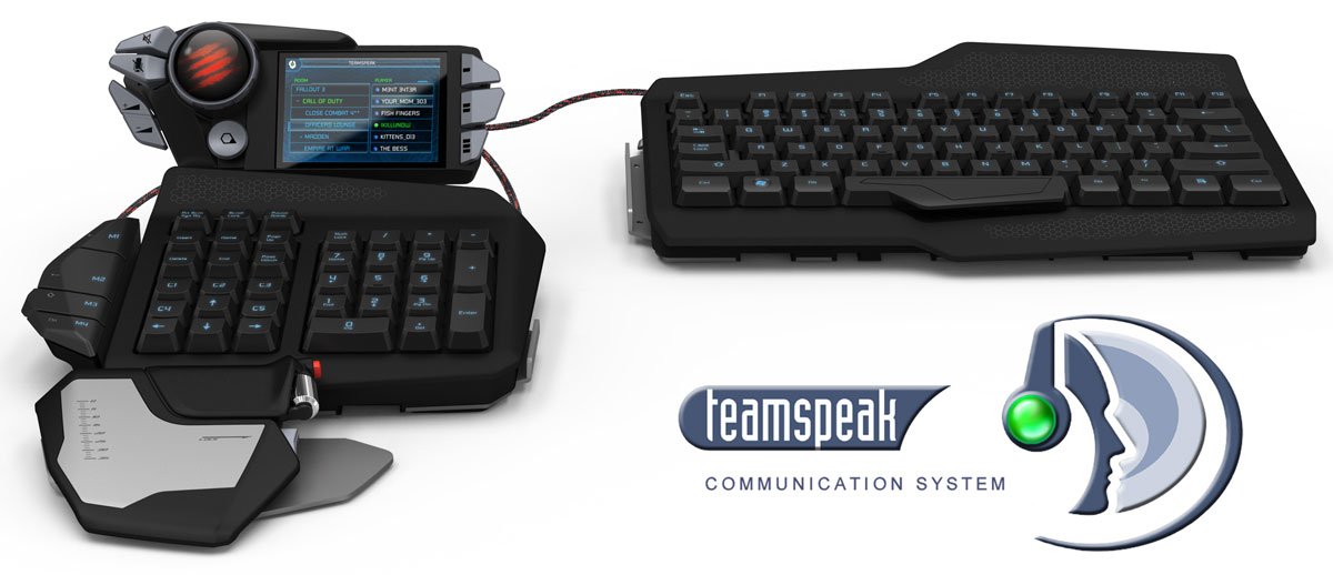 Amazon.com: Mad Catz S.T.R.I.K.E.7 Gaming Keyboard