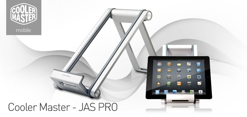 Cooler Master JAS PRO Portable Aluminum Docking and Display Stand for