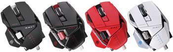 Mad Catz R.A.T. 9 Gaming Mouse - Available in Four Colors