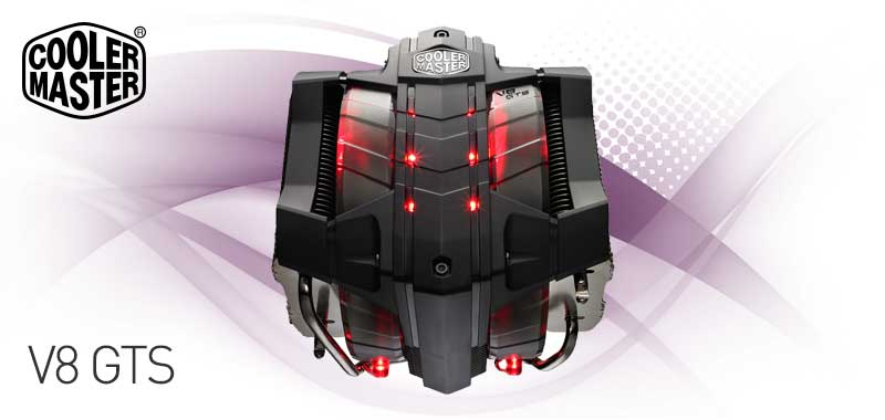 Amazon.com: Cooler Master V8 GTS - High Performance CPU Cooler with