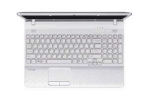 Sony VAIO VPCEG33FX 14-Inch Laptop - Keyboard