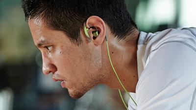 klipsch image a5i sport in ear headphones green electronics. Black Bedroom Furniture Sets. Home Design Ideas