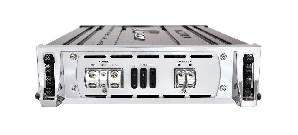 Amazon Com   Lanzar Maxp1201d 2000 Watts Monoblock Class D Amplifier   Vehicle Mono Subwoofer