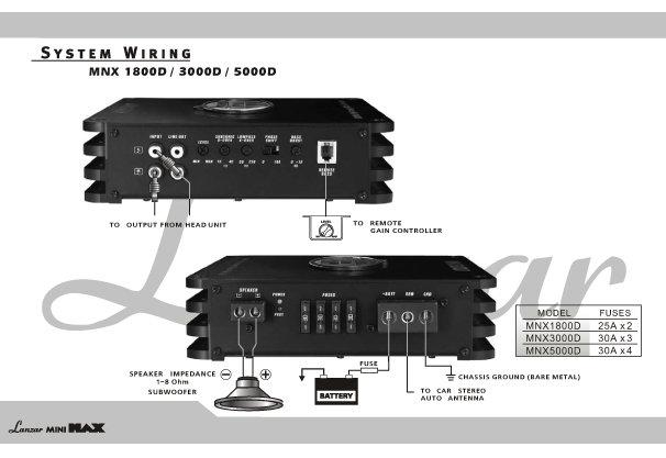 Mnx D Diagram on Lanzar Amp Wiring Diagram