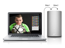 WD My Book Thunderbolt Duo - RAID